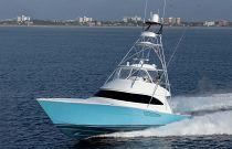 Viking yachts 58 convertible running image
