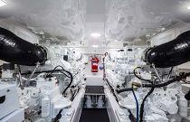 Viking 58 Engine Room