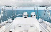 viking yachts 58c flybridge helm