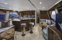 Viking yachts 58 convertible salon