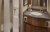 Viking Yachts 48 Convertible Stall Shower