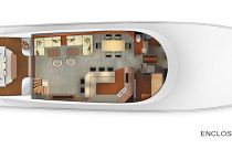 Viking-Yachts-92SB-Enclosed-Salon-Layout
