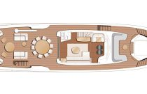 X95 Flybridge Layout With Sundeck