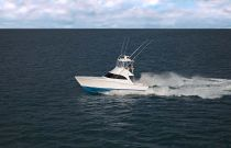 Viking 38 Billfish Far Away Running Shot