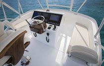 Viking 38 Billfish Flybridge Helm