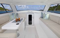 Viking 38 Billfish Pilothouse Dinette