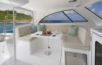 Viking 38 Billfish Pilothouse Seating