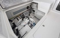 Viking 38 Billfish Spacious Engine Room