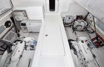 Viking 38 Billfish Engine Room Door Closed