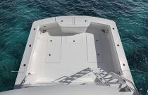 Viking 38 Billfish Cockpit View from Tower