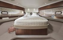 VIP cabin on the Princess Yachts F55