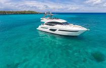 Princess Yachts F55 in tropical water
