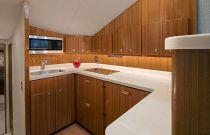 Viking Yachts 44 Convertible Stone Counter Tops