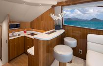Viking Yachts 44 Convertible Galley