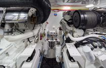 Viking Yachts 44 Convertible Engine Room