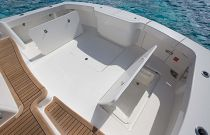 Viking Yachts 44C In-Deck Stowage well
