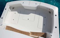 Viking 44C n-deck fish and a stowage well