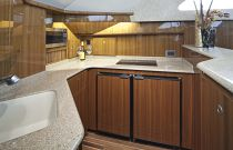 Viking Yachts 42 Convertible Galley