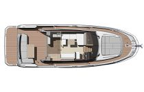 Prestige Yachts 420S main deck layout