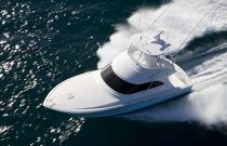 Viking Yachts 42 Convertible Overhead Aerial Profile