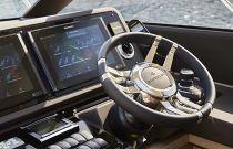 Prestige 590S Yacht steering wheel
