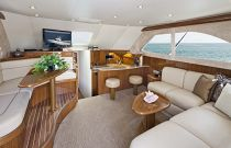 Viking Yachts 42 Convertible Salon Living Room