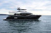 Princess Y85 with black hull