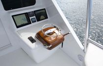 Viking Yachts 92 Convertible Aft Bridge Controls