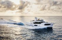 Absolute 68 Navetta at sunset
