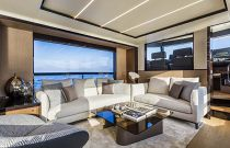 Salon seating area on navetta 68
