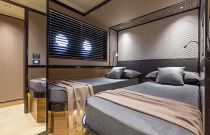 Guest stateroom on the Navetta 68