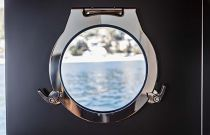 Porthole on the Absolute Navetta 68