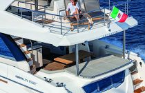 Flybridge Aft Absolute 62 Fly