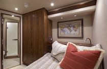 Viking 92 Enclosed Bridge Stateroom