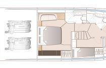 princess v55 lower deck layout