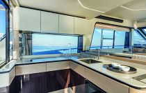 absolute 47 flybridge galley