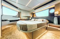 beautiful cabin on the absolute 47 flybridge