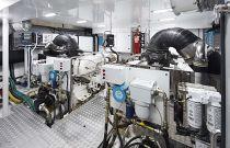 princess y85 engine room