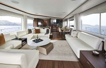 salon on the princess yachts y85