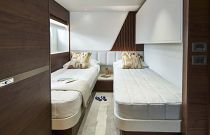 side by side bunks guest suite
