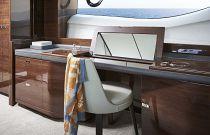 vanity area in master suite