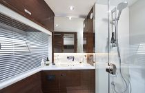 Port Cabin interior bath