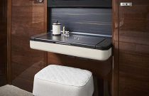 dressing area on the v78