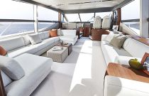 Princess Yachts F70 Interior Salon