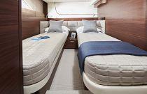 starboard cabin bunks