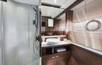 interior starboard bathroom