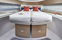 Forward Guest Cabin Beds Together