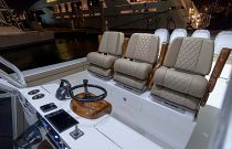 Helm Seating and Steering