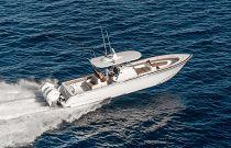 Valhalla Boatworks V-37 Going Fast