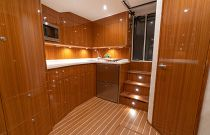 Interior of the 46 Billfish